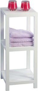Badregal Weiß - HomeTrends4You 401226 Regal ♥ weiß matt lackiert